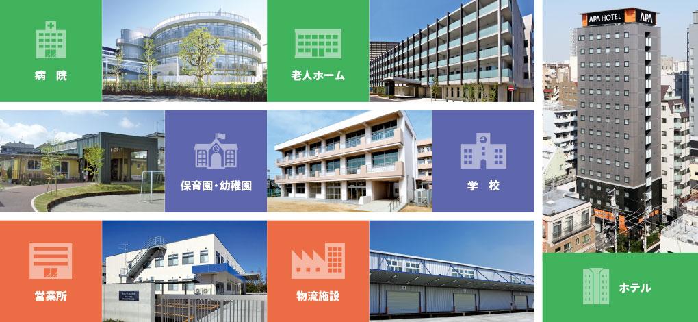 京成建設は 、「奉仕」「誠実」「革新」のもとに、お客様に喜ばれる良質な商品・サービスを、安全・快適に提供し、健全な事業成長のもと、社会の発展に貢献します。