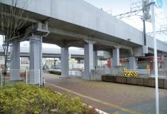 成田新高速鉄道工事に伴う耐震補強(北総鉄道分)