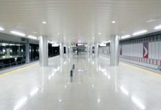 成田空港駅ホーム階改修