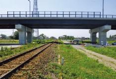 関東鉄道常総線中妻跨線橋