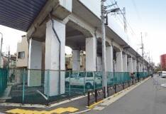 高架橋柱補修及び耐震補強
