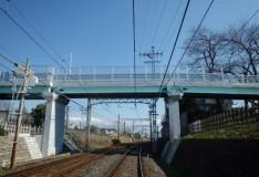 鷺沼西跨線橋補修工事