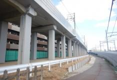 中沢高架橋(11k608m~11k904m間)吸音板防音壁塗装工事