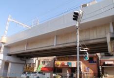 成田高架橋(成田起点0k190m~0k767m間P6)耐震補強工事